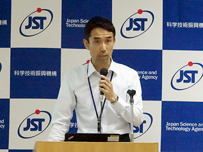 Photo: Masanori Emori, JST Manager