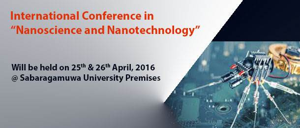 "International Conference ""Nanoscience and Nanotechnology"""