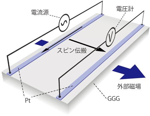 図2 実験のセットアップ図