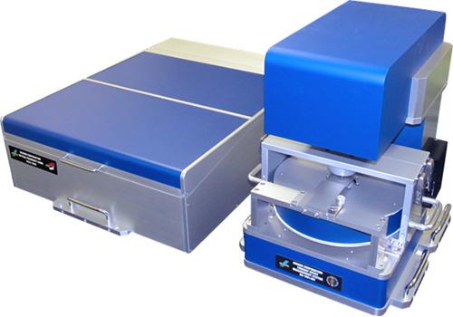 図4 デュアルコム磁気光学効果測定装置のプロトタイプ